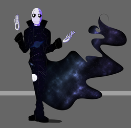 Omnipotent!Gaster Concept Design by The-NoiseMaker