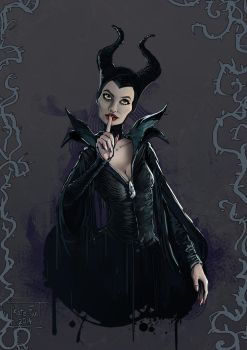 Maleficent by Kate-FoX