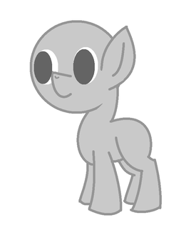 MLP Filly Base by PegasusNamedDeath