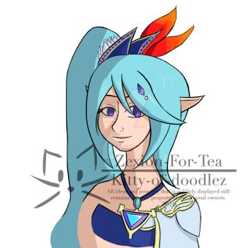 Hyrule Warriors Lana by Zexion-For-Tea