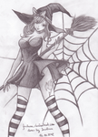 Juvia Loxar witch by Juviaaa
