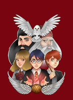 Harry Potter sorcerer's stone by TheDody36