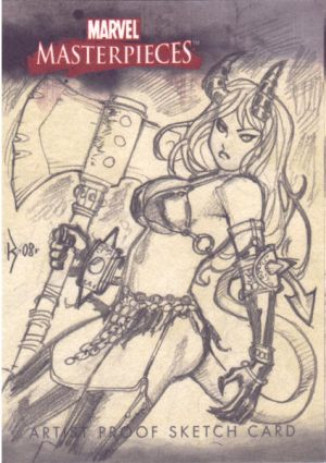 Majik Sketch Card by RyanKinnaird