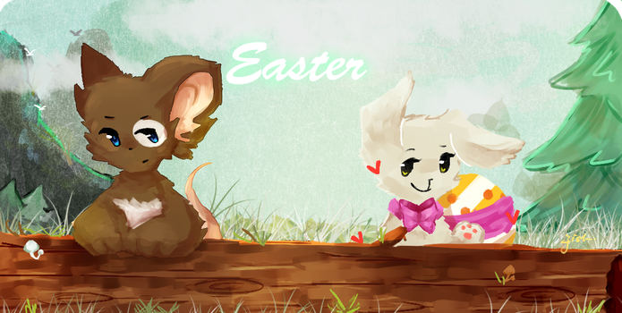 Easter by FishOuO