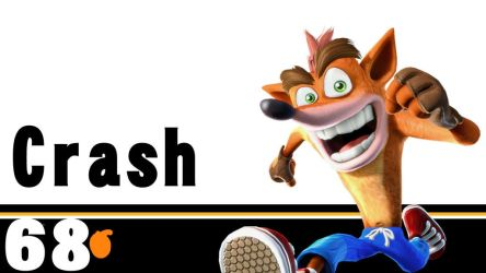 68: Crash Bandicoot  Super Smash Bros. Ultimate by MrGeorge14