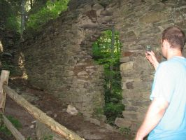 Me Checking Out Ruins by Bennuendo