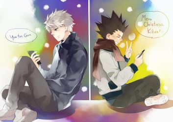Killua and Gon by get3
