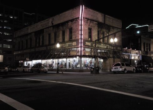 One night in downtown Portland by jmnorthwood