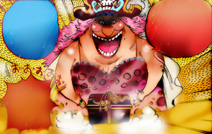One Piece Chapter 861+ spoilers MOTHER CARAMEL PIC by Amanomoon