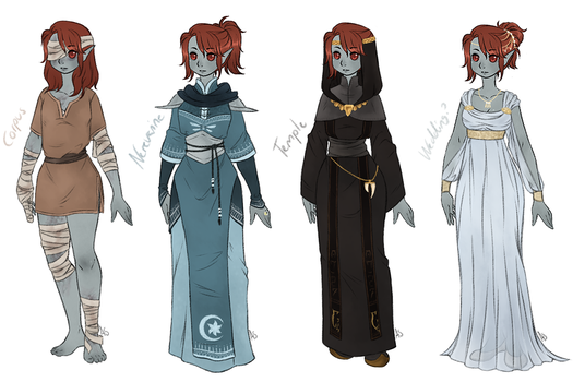 Dunmer dress-up 3 by AnnMY