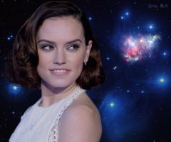 Growing Daisy Ridley 4/5 by ZituKX