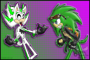 Scourge + Light: Got Your Nose! by Rapha-chan