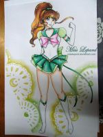 eternal  sailor jupiter by misslepard