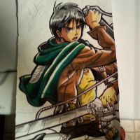 Eren Jaeger from attack on titan by AceArtz1001