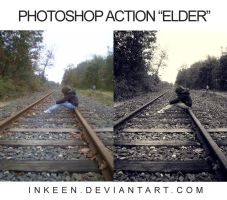 ELDER - PS Action no2 by inkeen