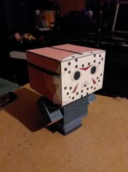 Jason Voorhees Part 5 CubeeCraft by SuperVegeta71290