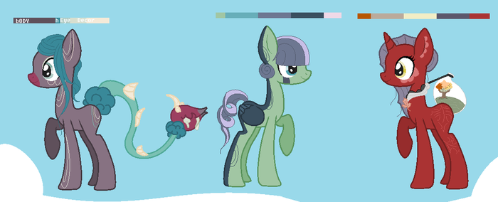 Cheap Pony Adopts-Open by DoodleBug-Adoptable