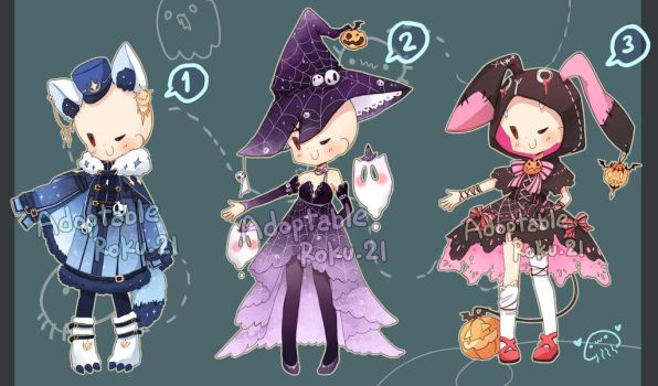 [Closed] Adoptable: Outfits 14 by ZylenXia