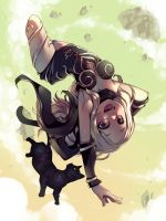 Gravity Rush - Kat by Parororo