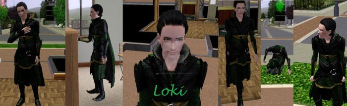My Loki, in The Sims 3 by NinjaKatAvenger