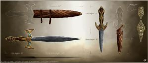 Elven Sword by mbrady365