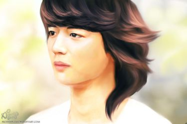 Minho's Stoic Gaze by frozenplum