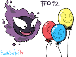 #092 Ghastly by SaintsSister47