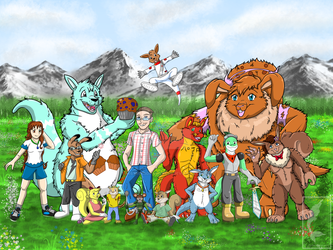 PC We're All Here by MistressDragoness
