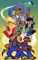Swat KATS: The Radical Squadron by geeksnextdoor