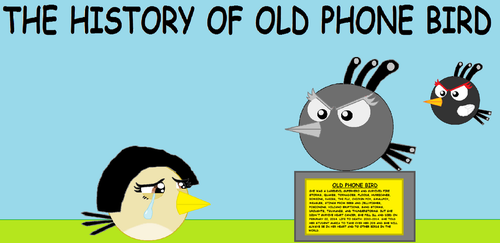 RBT S2 Ep. 7 The History of Old Phone Bird by Mario1998