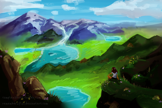 Landscape Practice #1 by Remember2fly1