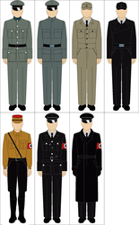 Selection of WWII german uniforms by Tounushi