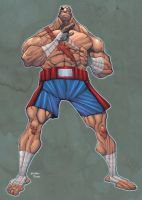 Sagat by mikebowden