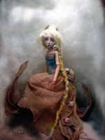 Rapunzel Ball jointed doll AAA by cdlitestudio