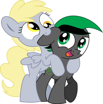 Vector Acid Rain X Derpy Om Nom On Your Ear by NinjaRarity