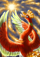 Ho-oh by ThunderBeer