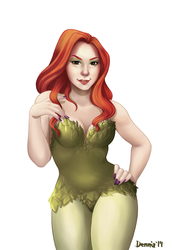 Commission Poison Ivy - Laura by dennia
