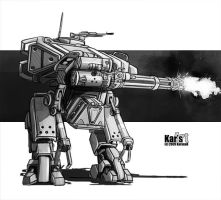 Assault Mech by KaranaK