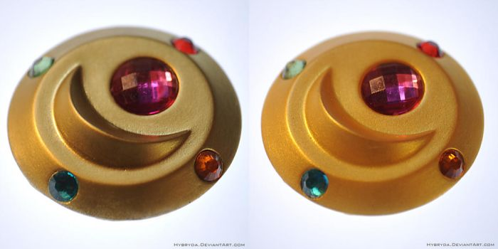 Moonlight Project - anime Prism Brooch by Hybryda