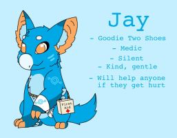 Jay the Goodie Two Shoes by Lunawolf44