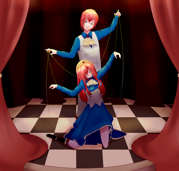 Puppet master and his Marionette by Lalazy