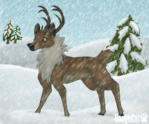 Reindeer by therougecat