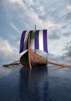 Viking Ship by jcubic