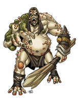 Ogre Father by ProdigyDuck