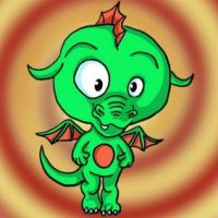 Petit dragon - little dragon by Luckytrefle