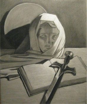 Charcoal Study by ArtistStorm