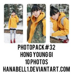 Photopack#32 Hong Young Gi by HanaBell1
