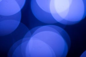 blue bokeh by T-bau