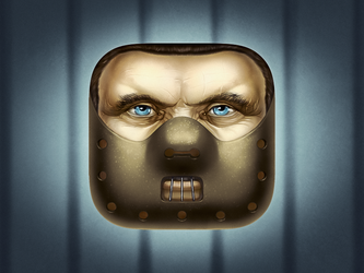 Hannibal Lecter Icon by AndreyRudenko