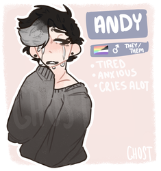 Andy by gh0st-boi